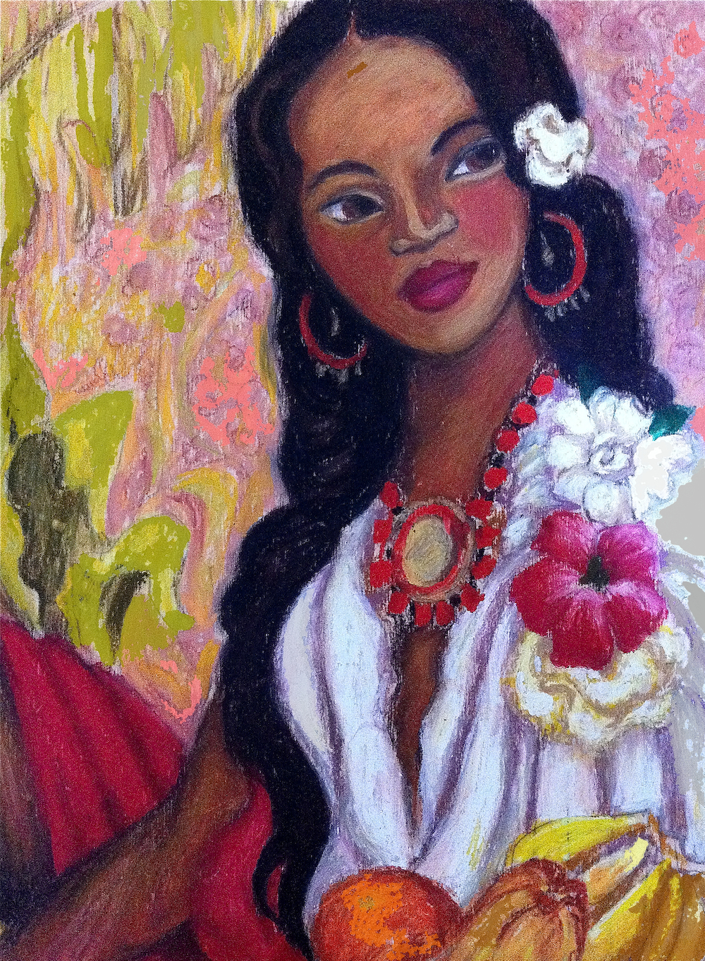 Painting by Irene Carranza